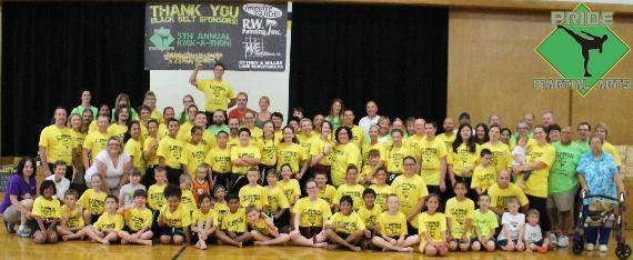 Pride Martial Arts ALS Kick-A-Thon